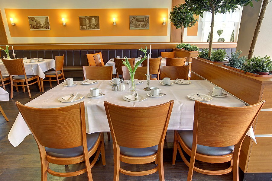 Hotel Lindenhof Restaurant Raum Wasserburg