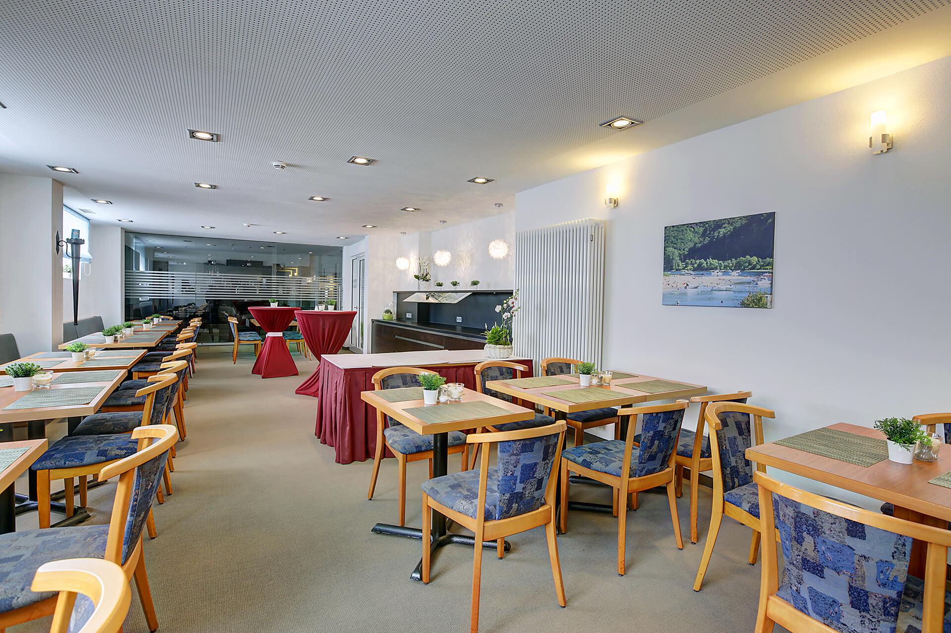 Hotel Lindenhof Restaurant Raum Hexenköpfel