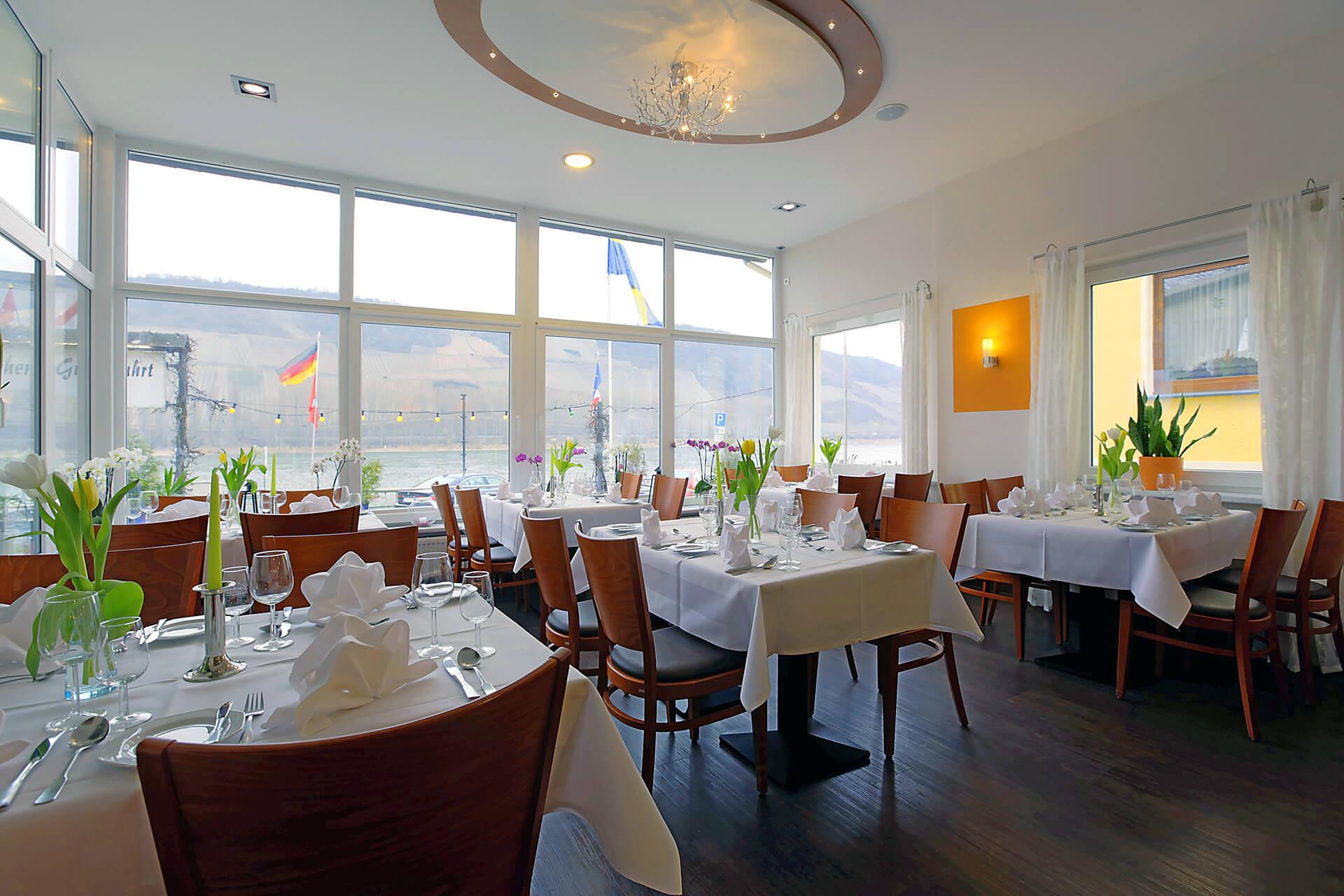 Hotel Lindenhof Restaurant Raum Wintergarten